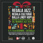 REGALA JAZZ, REGALA CULTURA! BALLA LINDY HOP!